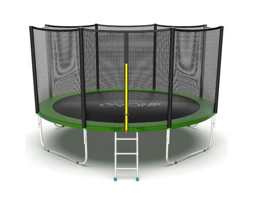 Спортивный батут с защитной сеткой EVO Jump External 12ft (green) EVO Jump 14317