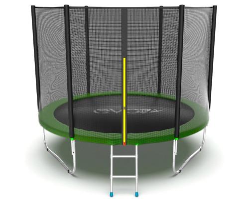 Спортивный батут с сеткой EVO Jump External 10ft (green) EVO Jump 14316