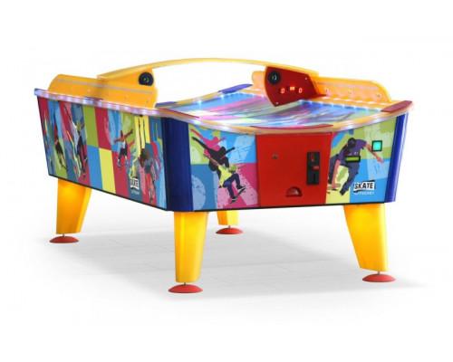 Всепогодный аэрохоккей «Skate» 8 ф (238 х 128 х 83 см, цветной, купюроприемник)