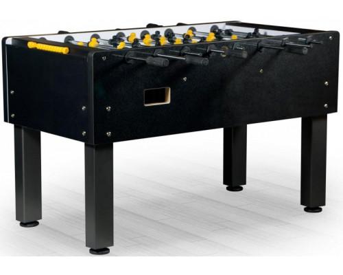 Настольный футбол (кикер) «Marsel» (144x76x90см, черный)