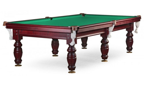 Бильярдный стол для пула «Дебют» 9 ф (махагон) ЛДСП