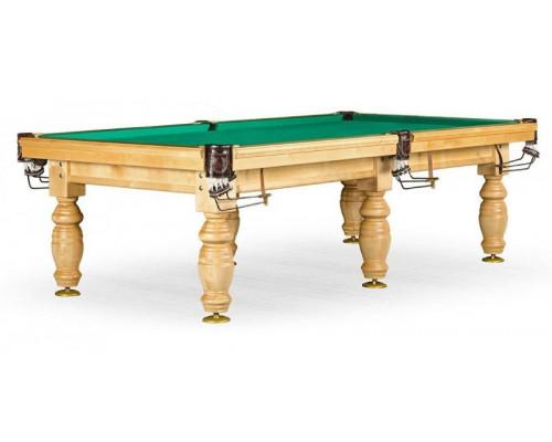 Бильярдный стол для русского бильярда «Дебют» 10 ф (светлый) ЛДСП