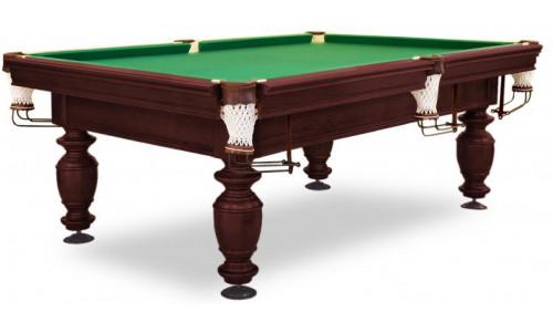 Бильярдный стол для русского бильярда «Нортон» 8 футов (махагон, под шар 60 мм)