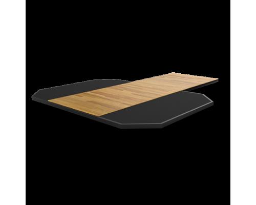MATRIX MAGNUM MG-MR690P Платформа из спрессованной резины с деревянной вставкой