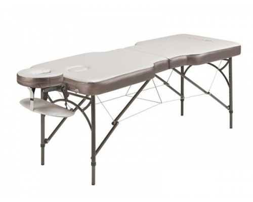 Массажный стол Anatomico Royal серебристый