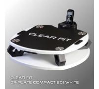 Виброплатформа Clear Fit CF-PLATE Compact 201 белая