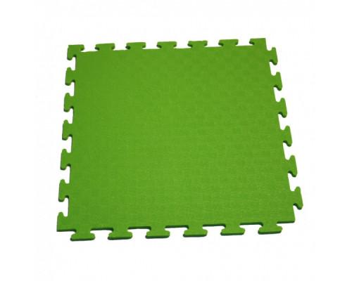 Мат-пазл для фитнесса и тренажеров DFC 1898 зеленый