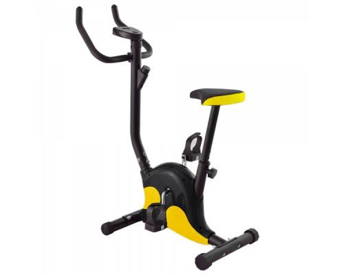 Велотренажер домашний DFC B8012 черно-желтый
