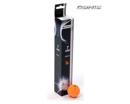 Мячики для настольного тенниса Donic 1T-Training, 6 штук, оранжевый