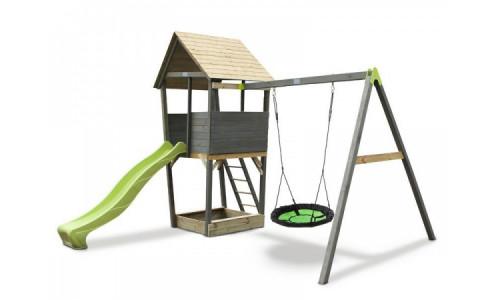 Игровой комплекс Exit Акцент с кaчелями-гнездо Exit 13999