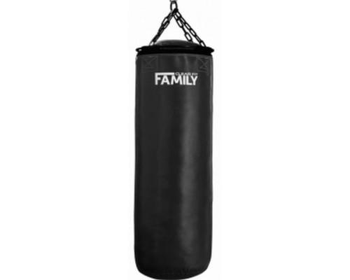 Черный боксерский мешок FAMILY MTK 50-120