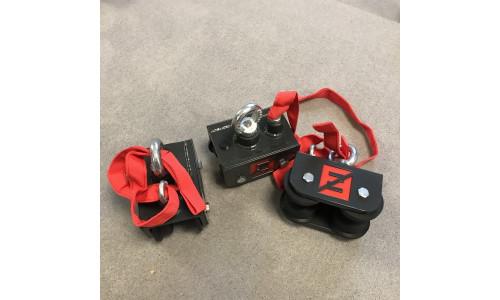 Конструкция с подвижными креплениями для мешков Fighttech FS7 Fighttech 14299