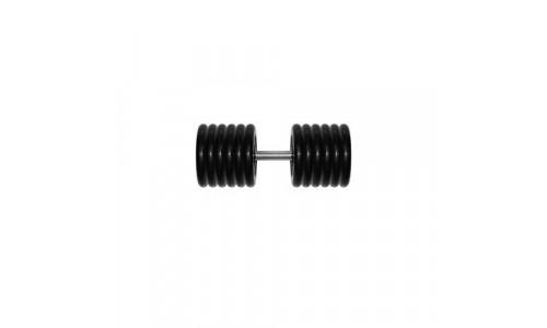 Гантель неразборная Fit Tools G61 (61 кг) черная Fit Tools 14981