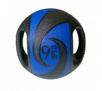 Мяч тренировочный (медицинбол) с хватами Fit Tools 9