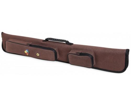 Чехол для двух двусоставных киев Fortuna Billiard Equipment Winner 2x2 коричневый