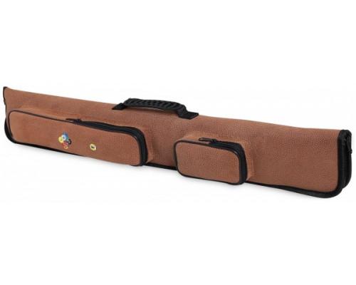 Чехол для двух двусоставных киев Fortuna Billiard Equipment Winner 2x2 светло-коричневый