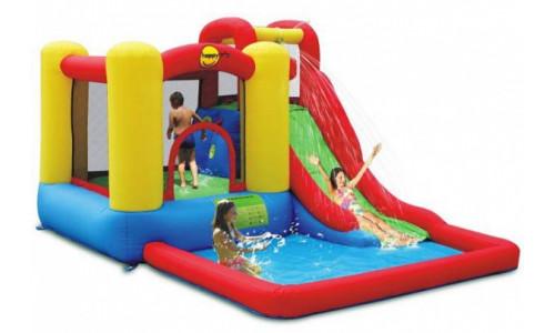Водный батут с бассейном Happy Hop Скольжение 9271 Happy Hop 4968