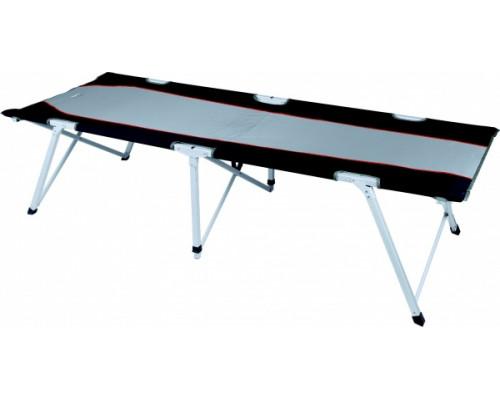 Кровать темно-серый/голубой HIGH PEAK Campingliege Toledo XL