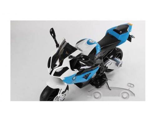Детский электрический мотоцикл Joy Automatic JT528 синий