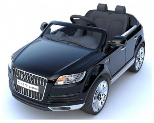 Детский электромобиль Joy Automatic Audi Q7 черный металлик