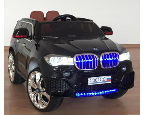 Детский электромобиль Joy Automatic BJR500 BMW X5 черный металлик