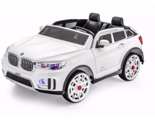 Двухместный электромобиль Joy Automatic QX007 белый