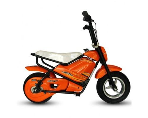 Электрический мотоцикл Joy Automatic Mini rocket MC-243 оранжевый