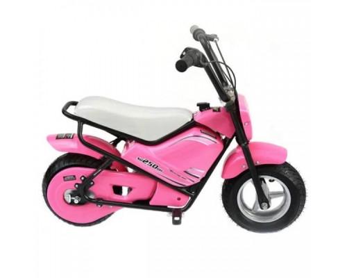 Электрический мотоцикл Joy Automatic Mini rocket MC-243 розовый
