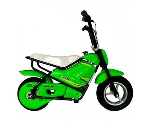 Электрический мотоцикл Joy Automatic Mini rocket MC-243 зеленый