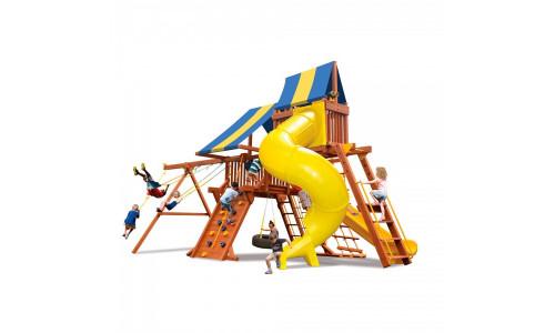 Детская площадка с закрытой горкой New Sunrise Техасец 5.5 New Sunrise 14248