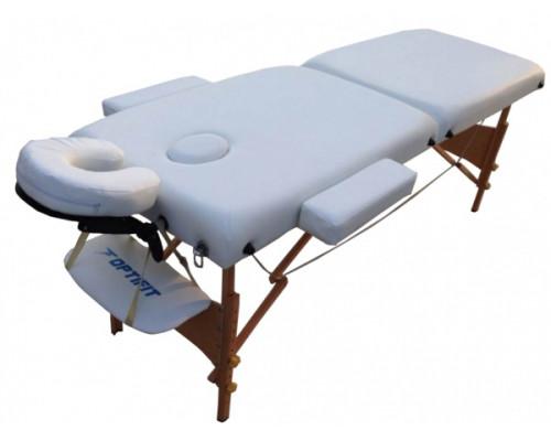Массажный стол Optifit BELLEZA MT-25 белый