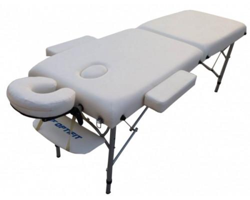 Массажный стол Optifit ROYAL MT-45 белый