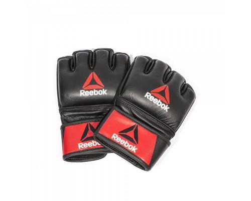 Перчатки для MMA Reebok Combat Leather Glove Small