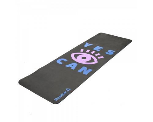 Тренировочный коврик для йоги Reebok Yes I Can