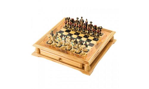 Шахматы+шашки деревянные РФН RTA-3503 РФН 16206