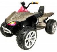 Детский электроквадроцикл Rivertoys A001MP золотой