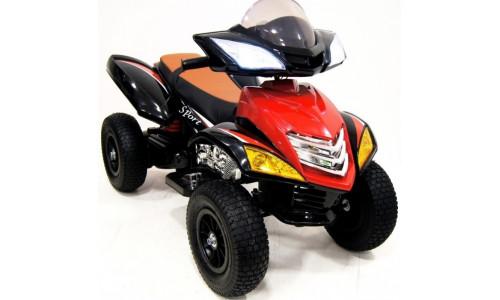 Детский электроквадроцикл Rivertoys Е005КХ-А красный Rivertoys E005KX-A-RED