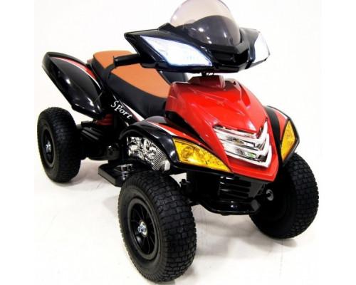 Детский электроквадроцикл Rivertoys Е005КХ-А красный