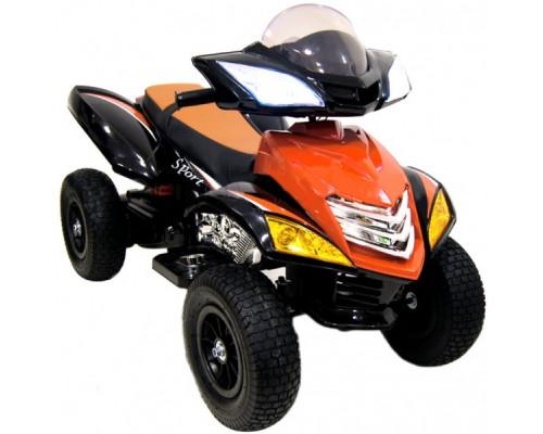 Детский электроквадроцикл Rivertoys Е005КХ-А оранжевый