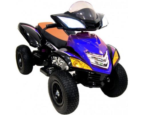 Детский электроквадроцикл Rivertoys Е005КХ-А синий