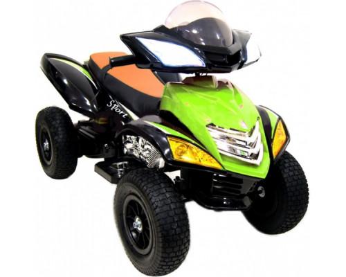 Детский электроквадроцикл Rivertoys Е005КХ-А зеленый