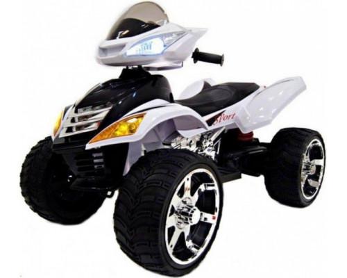 Детский электроквадроцикл Rivertoys Е005КХ белый