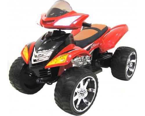 Детский электроквадроцикл Rivertoys Е005КХ красный