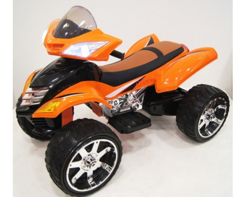 Детский электроквадроцикл Rivertoys Е005КХ оранжевый