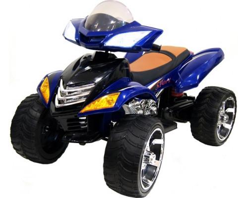 Детский электроквадроцикл Rivertoys Е005КХ синий
