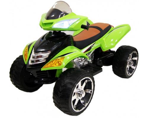 Детский электроквадроцикл Rivertoys Е005КХ зеленый