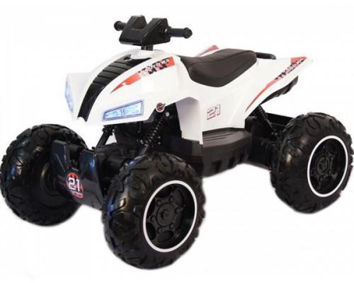 Детский электроквадроцикл Rivertoys T777TT белый