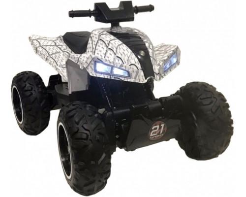 Детский электроквадроцикл Rivertoys T777TT белый-spider