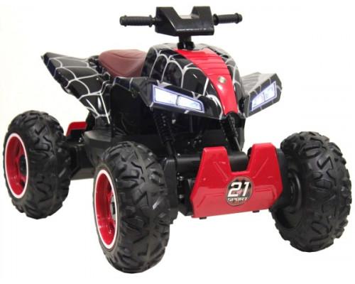 Детский электроквадроцикл Rivertoys T777TT черный-spider