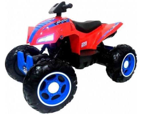 Детский электроквадроцикл Rivertoys T777TT красный